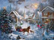 Merry Christmas - 1000pc Jigsaw Puzzle by Sunsout
