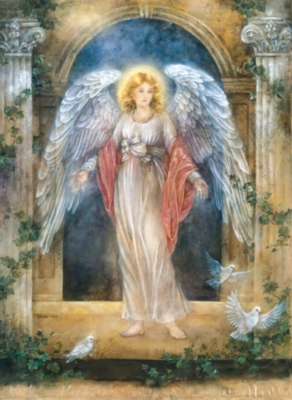 Lena Liu's Guardian Angel - 1500pc Jigsaw Puzzle by Sunsout