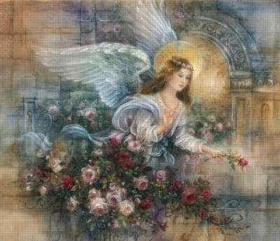 Angel of Love - 550pc Jigsaw Puzzle by Sunsout