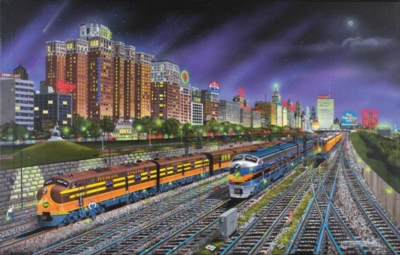 Chicago Nights - 1000pc Jigsaw Puzzle by Sunsout