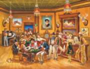 The Saloon - 1000pc Large Format Jigsaw Puzzle by Sunsout