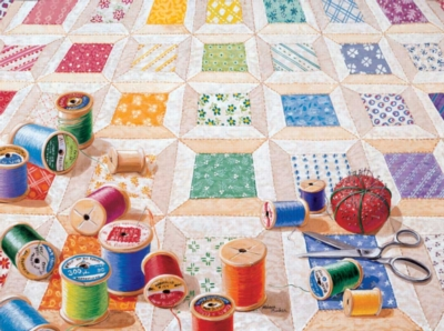 Spools - 1000pc Jigsaw Puzzle by Sunsout