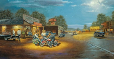 Route 66 - 500pc Jigsaw Puzzle by Sunsout