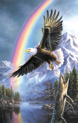 Eagle of Promise - 1000pc Jigsaw Puzzle by Sunsout