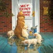 Wet Paint - 1000pc Jigsaw Puzzle by Sunsout