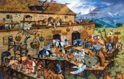 It's a Zoo - 1000pc Jigsaw Puzzle by Sunsout