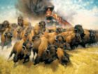 The Coming of the Iron Horse - 500pc Jigsaw Puzzle by Sunsout