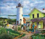 Lighthouse Life - 550pc Jigsaw Puzzle by Sunsout