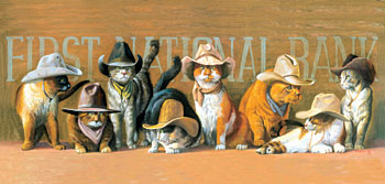 Jigsaw Puzzles - The James Younger Gang