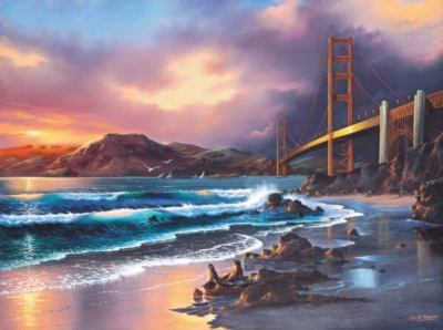 California Gold - 1000pc Jigsaw Puzzle by Sunsout