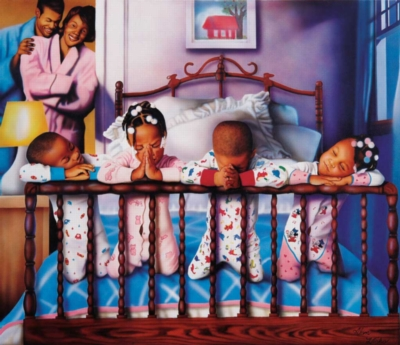 Their Nightly Prayers - 550pc Jigsaw Puzzle by Sunsout