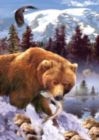 Grizzly Bear - 1000pc Sunsout Jigsaw Puzzle