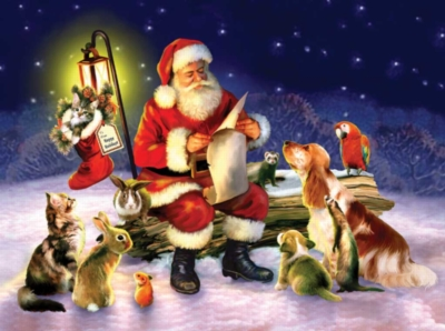 Santa's List - 1000pc Sunsout Jigsaw Puzzle