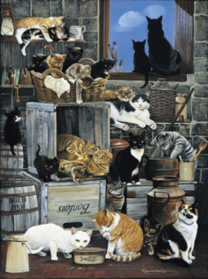 Alley Cats - 1000pc Sunsout Jigsaw Puzzle