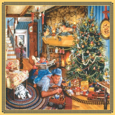Christmas Puzzles - Father's Christmas Train
