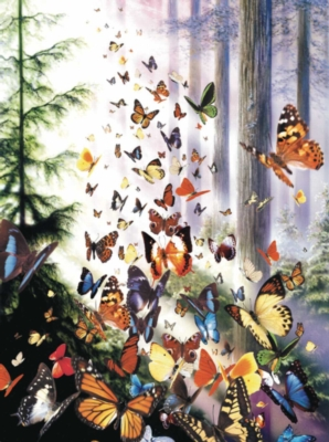 Butterfly Woods - 1000pc Sunsout Jigsaw Puzzle