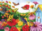 Butterfly Garden - 1000pc Jigsaw Puzzle by Sunsout