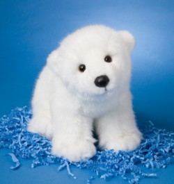Marshmallow - 15'' Polar Bear By Douglas Cuddle Toys