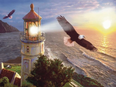 Jigsaw Puzzles - Eagle Light