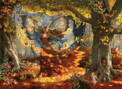 Woodland Fairy - 1500pc Jigsaw Puzzle by Sunsout