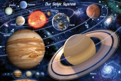 Into Space - 48pc Jigsaw Puzzle by Sunsout