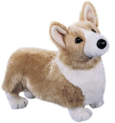 Chadwick Corgi - 16'' Dog By Douglas Cuddle Toys