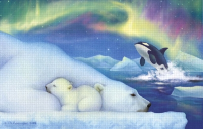 Goodnight Nanook - 100pc Jigsaw Puzzle by Sunsout