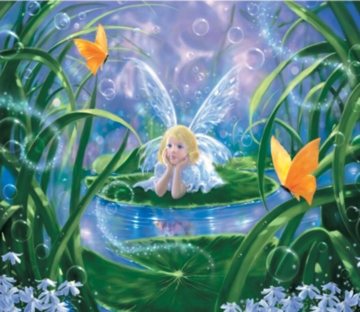 Lily Fairy - 200pc Jigsaw Puzzle by Sunsout