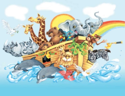 Noah & the Ark - 63pc Jigsaw Puzzle by Sunsout