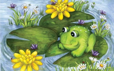Mr. Frog - 100pc Jigsaw Puzzle by Sunsout