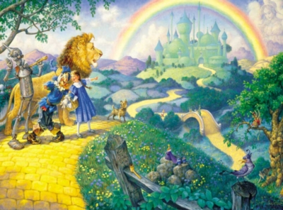 Journey to Oz - 63pc Jigsaw Puzzle by Sunsout