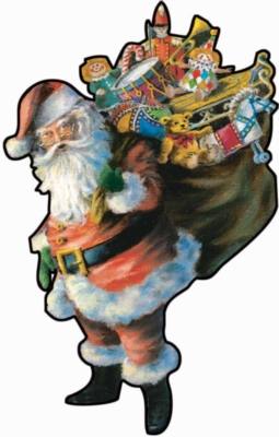 Shaped Jigsaw Puzzles - Ho!Ho!Ho!
