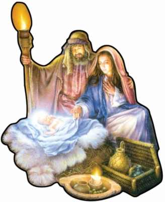 The Nativity - 1000pc Shaped Jigsaw Puzzle by Sunsout