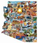 Arizona - 1000pc Shaped Jigsaw Puzzle by Sunsout
