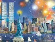 New York City Puzzle - Manhattan Celebration