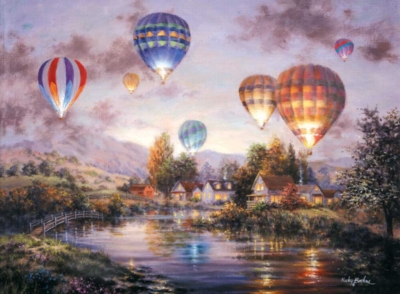 Balloon Glow - 1500pc Jigsaw Puzzle by Sunsout