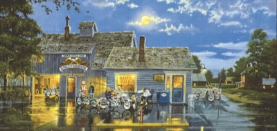 Sam's Place - 1000pc Panoramic Jigsaw Puzzle by Sunsout