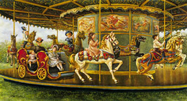 Carousel - 1000pc Jigsaw Puzzle by Sunsout