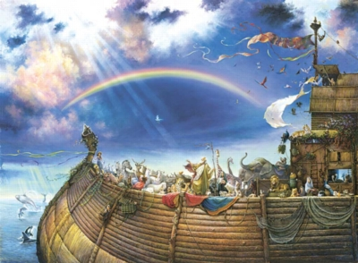 Noah's Ark - 1500pc Jigsaw Puzzle by Sunsout