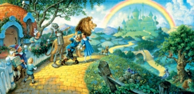 Wizard of Oz - 1000pc Panoramic Jigsaw Puzzle by Sunsout