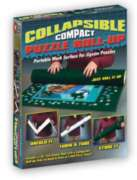 Puzzle Storage - Collapsible Felt Roll-Up