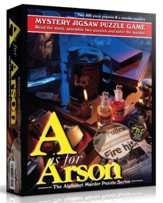 Jigsaw Puzzles - A is for Arson