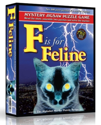 Jigsaw Puzzles - F is for Feline