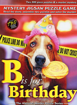B is for Birthday - 2 x 500pc TDC Mystery Jigsaw Puzzle
