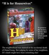 H is for Housewives - 2 x 500pc TDC Mystery Jigsaw Puzzle