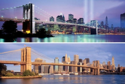 New York City - 2 x 500pc TDC Panoramic Jigsaw Puzzles