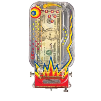 Bilz Cosmic Pinball - Money Puzzle