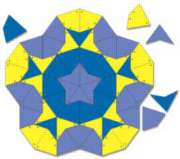Kites & Darts - 108pc Tessellation Magnet Pack