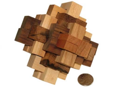 Interlocking Wooden Puzzle - 24 Piece Puzzle