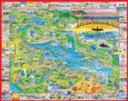Lakes Region, NH - 1000pc Jigsaw Puzzle by White Mountain
